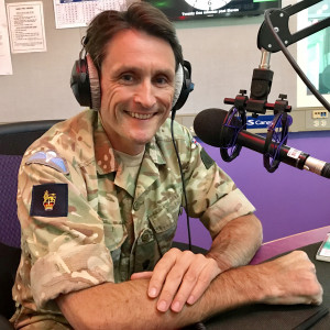 Commander Field Army On Track with BFBS